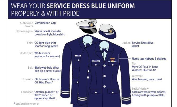 Service Dress Blue U S Coast Guard Auxiliary Flotilla 4