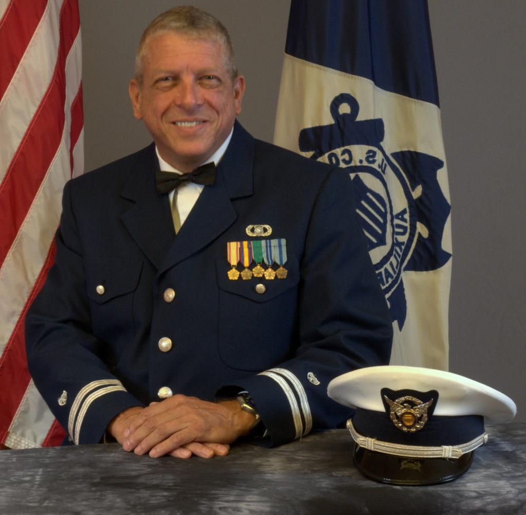 Flotilla Commander Glenn Oldak